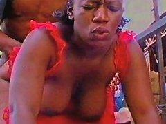 Black Mama Getting Boned