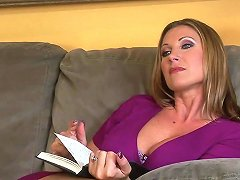 Stunning Busty MILF Stripped Nude And Fucked By A Bearded Man