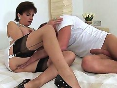 Unfaithful British Mature Lady Sonia Shows Off Her Heavy Hooters
